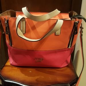 Guess color block bag